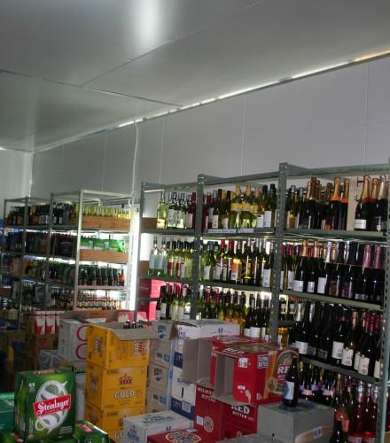 Coolroom – Liquor Store